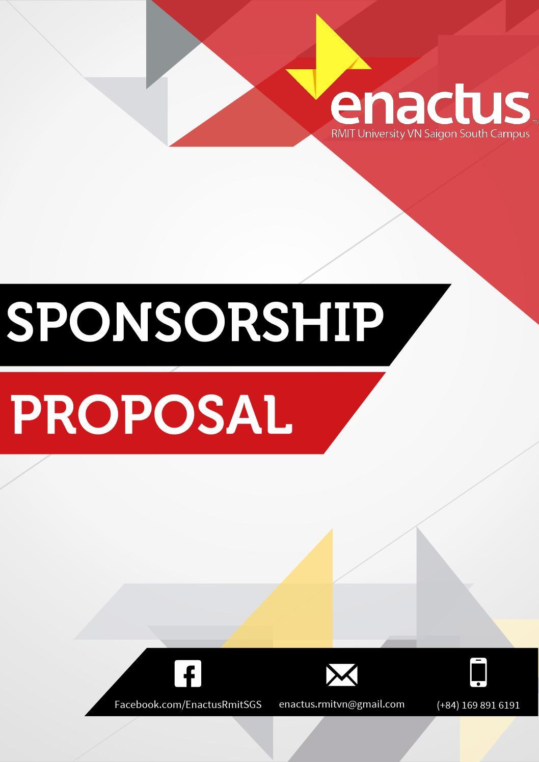sponsorship proposal - enactus rmit vietnam sgs (2013)minh, Powerpoint templates