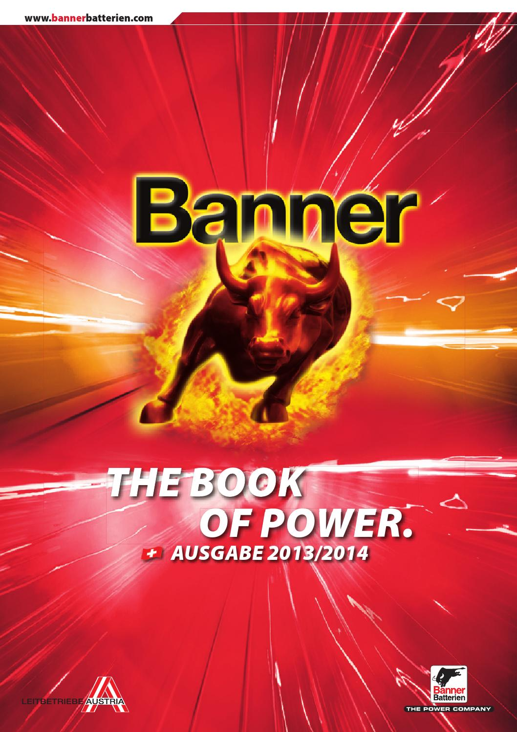 THE BOOK OF POWER CH 50 by Banner Batterien   issuu