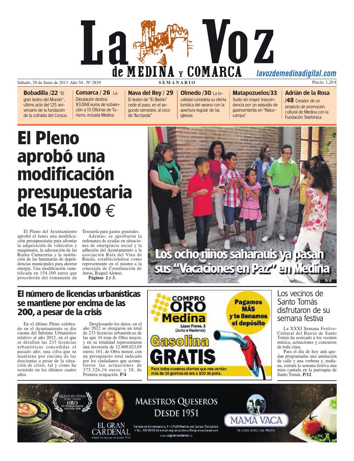 La Voz de Medina 130629 by La Voz de Medina - issuu