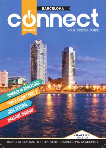 Barcelona Connect July Aug 2013 Issue 129 By Barcelona