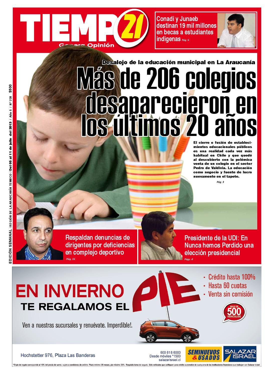 Tiempo21 Araucania Edicion 238 By Tiempo21 Araucan A Edici N  # Muebles Caupolican San Carlos