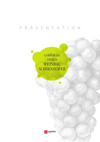 Präsentation Weinbau Schirnhofer By Inred Werbeagentur Issuu
