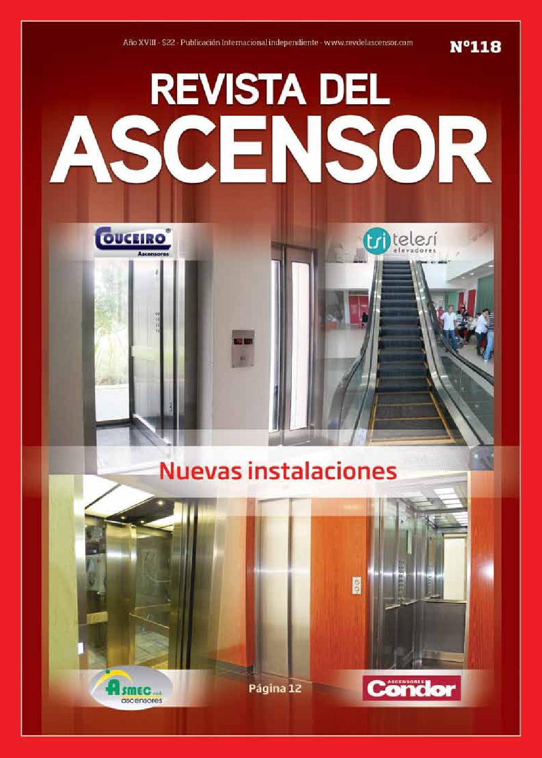 Revista del ascensor n 118 by dimero dimero issuu for Precio de puertas levadizas en lima peru