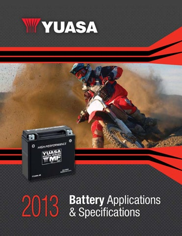 Yuasa Battery YuMicron Battery YB14L-A2 Arctic Cat 300//250