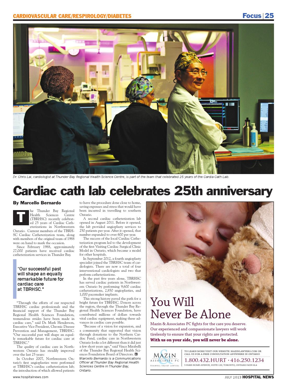 Hospital New July 2013 Issue by Hospital News - issuu