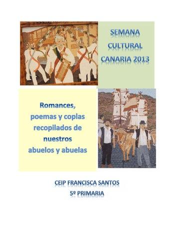 07 Poemas Y Coplas Recopilados Para Día De Canarias 2013 By