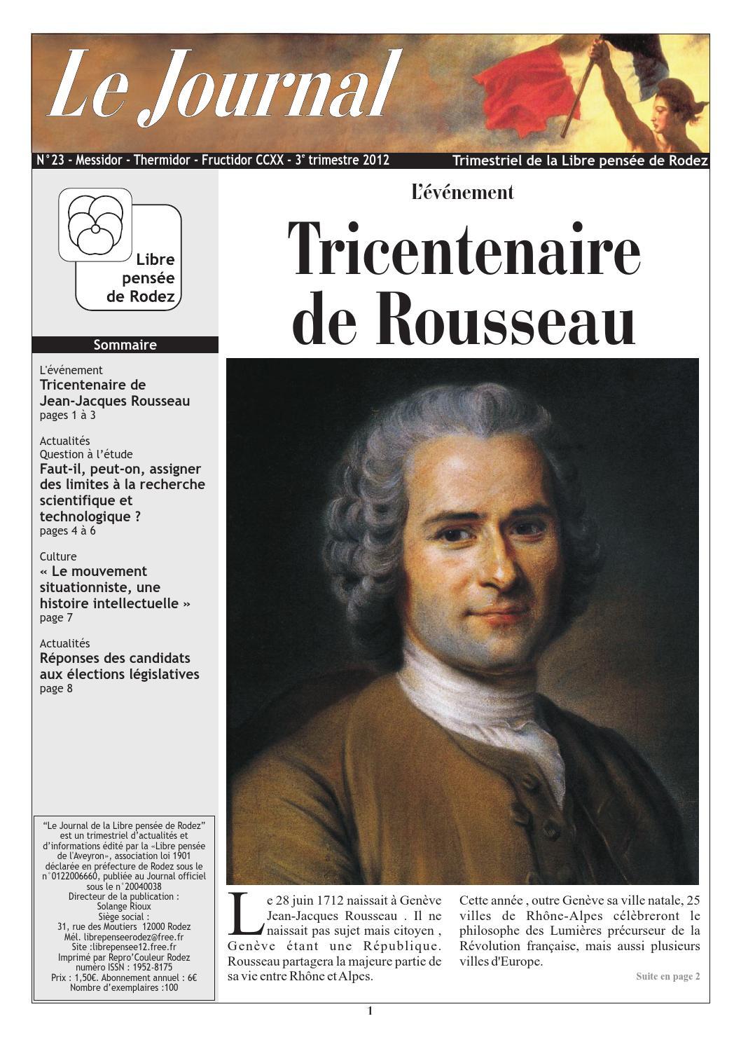 Le Journal N 23 By Libre Pens E De L 39 Aveyron Issuu