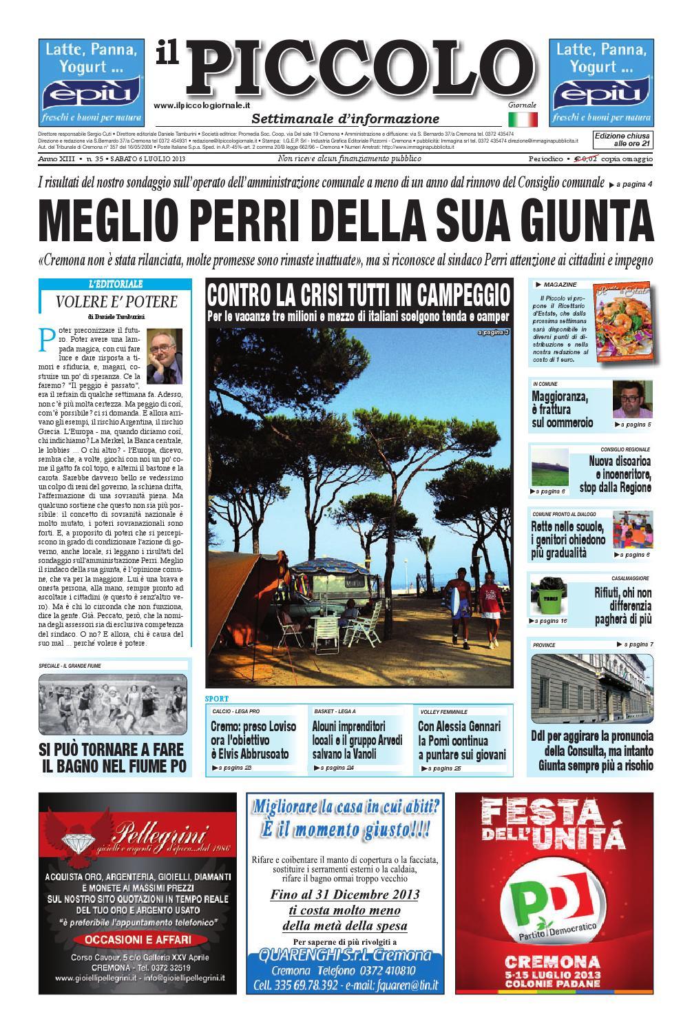 Il Piccolo Giornale del 6 luglio 2013 by promedia promedia - issuu