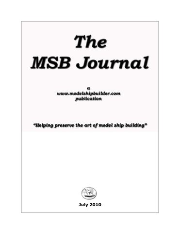 The msb journal july 2010 by msb journal issuu page 1 publicscrutiny Image collections