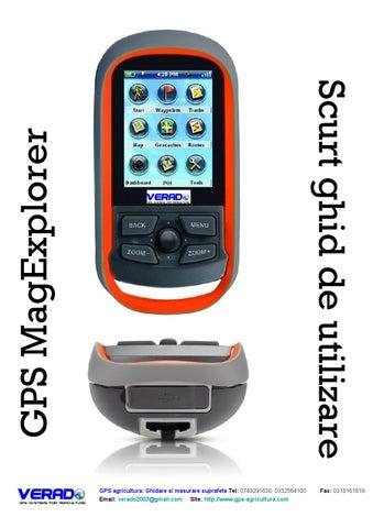 47e70ea6a3e GPS masurare suprafete gps magexplorer ghid utilizare