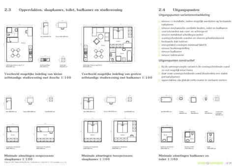 Ontwerpvarianten appartementen, startersstudio\'s / transformatie ...