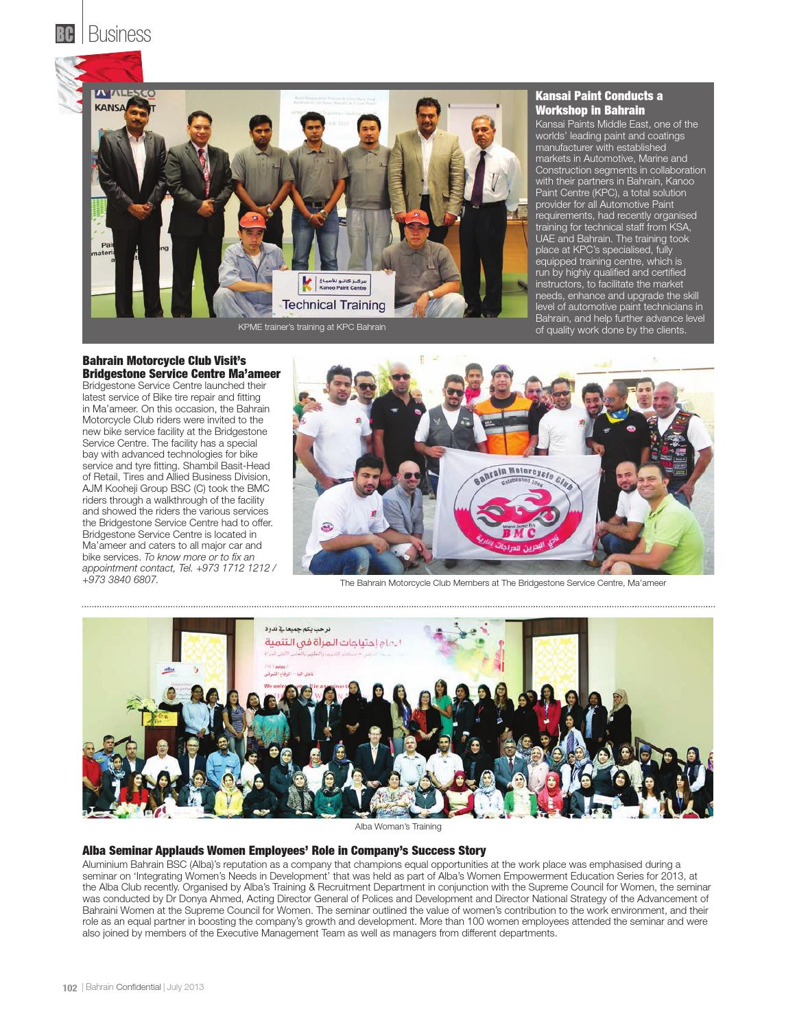 Bahrain Confidential July 2013 Issue by Arabian Magazines