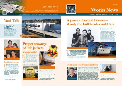 The Boat Works Gold Coast News N°2 by The Boat Works Marine
