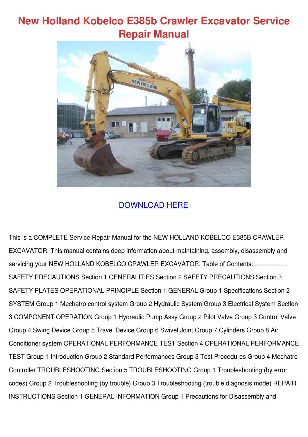 kobelco sk100 v sk120 v sk120lc v hydraulic crawler excavator workshop service repair manual download yw06501 lp11001 yp02301