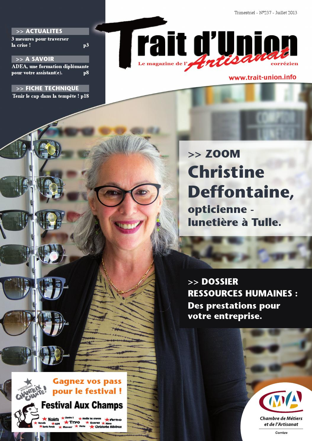 trait d'union, magazine de l'artisanat en corrèze n° 237 by