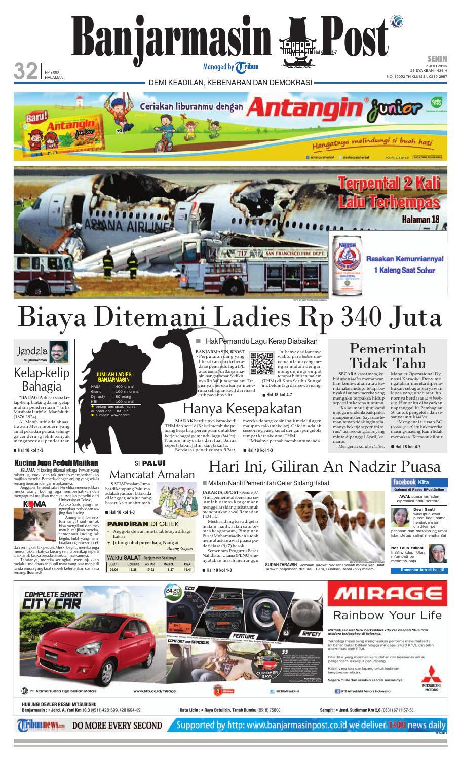 Banjarmasin Post edisi Senin 3c7944f1ab