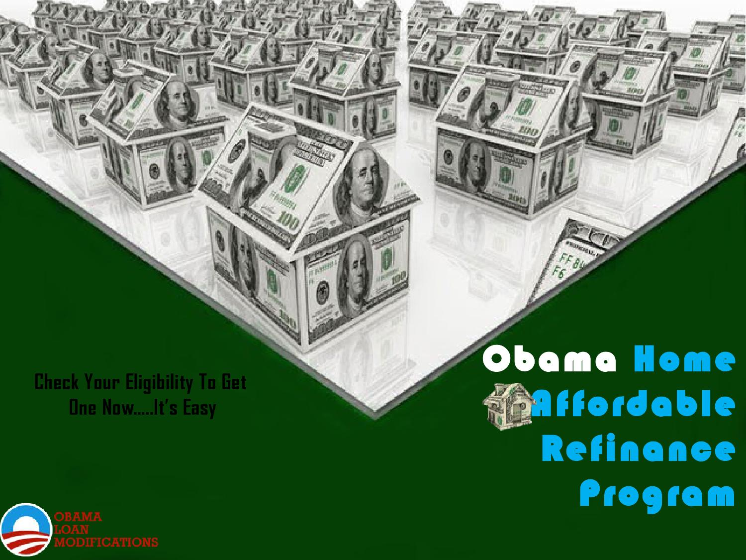 Government Home Affordable Refinance Program Eligibility