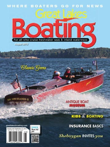 Great Lakes Boating Jul/Aug13 by GL Boating - issuu