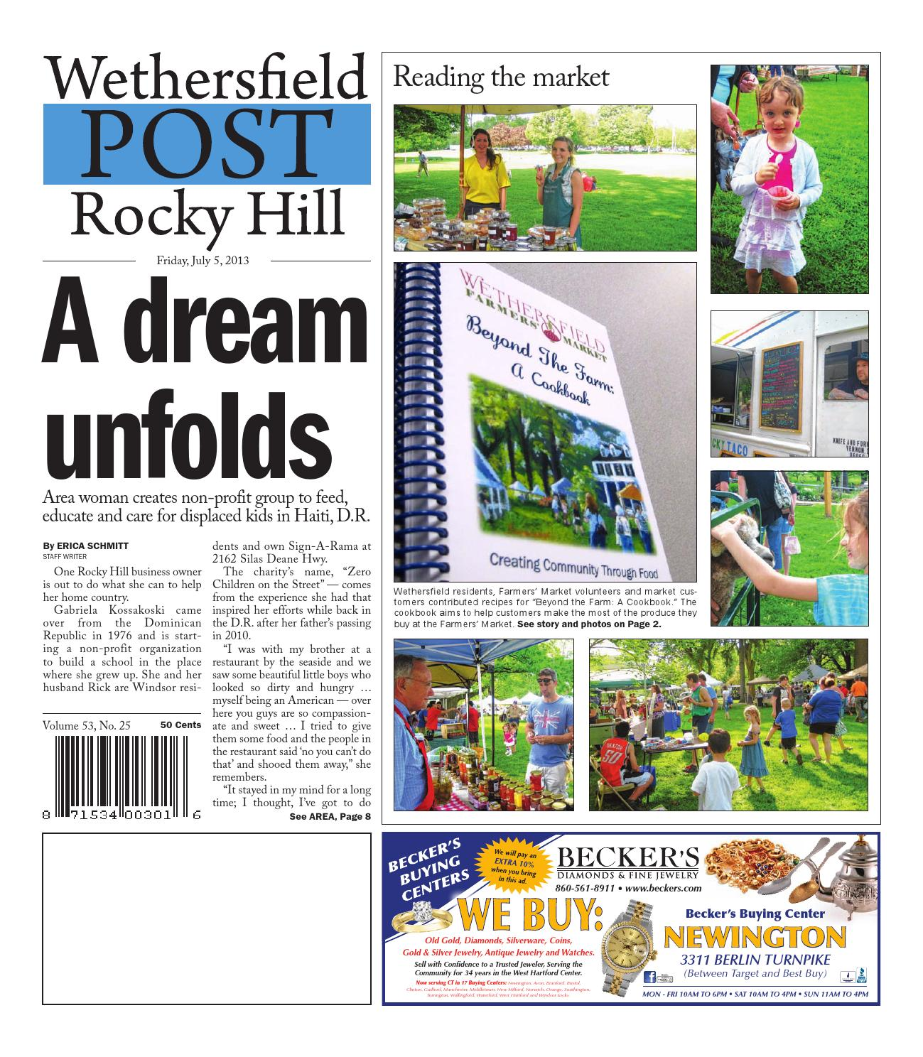 eaa3b254d1d Wethersfield Post - Rocky Hill Post 07-05-2013 by Art Department - issuu