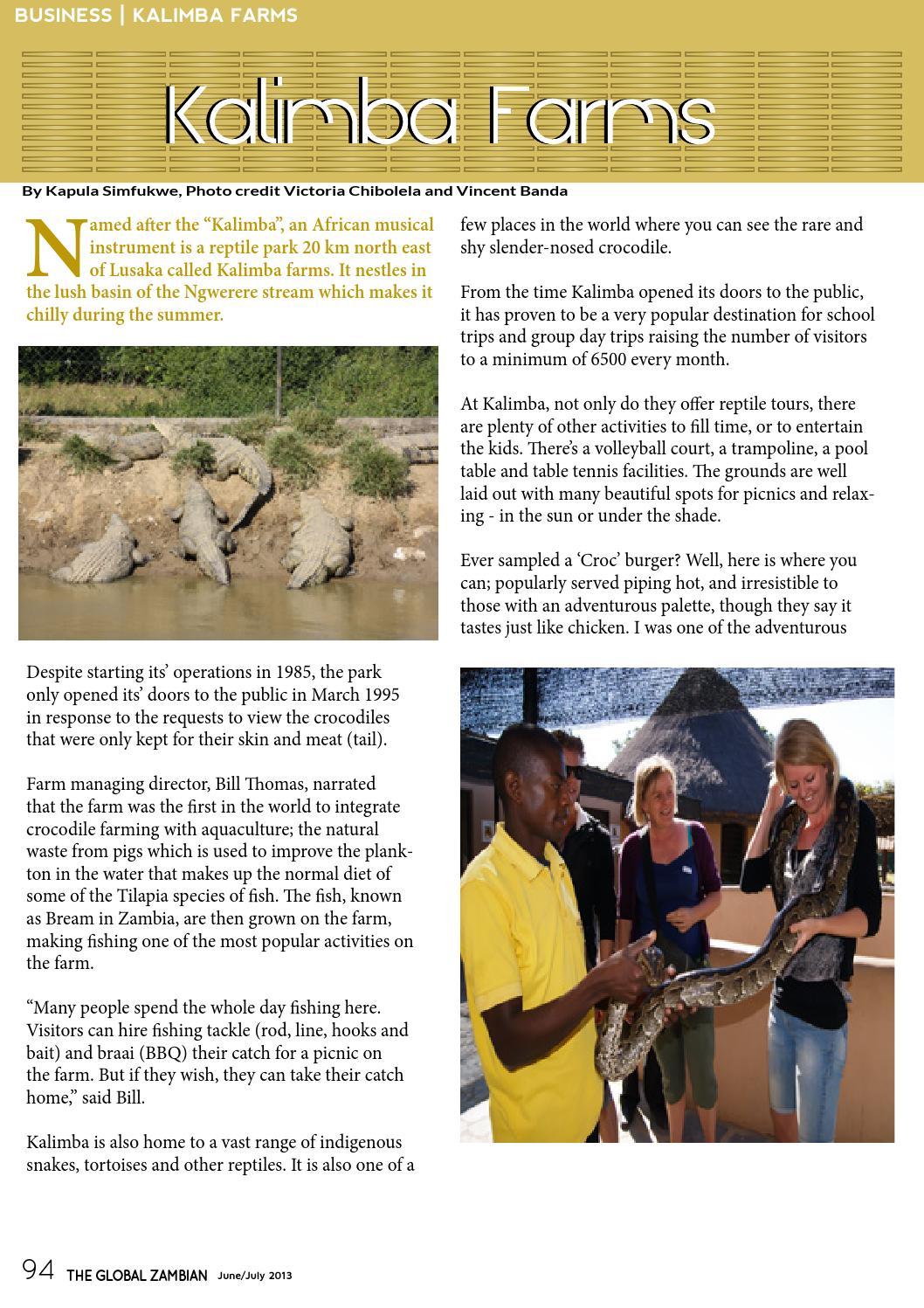 The Global Zambian Magazine Issue 2 by The Global Zambian Magazine