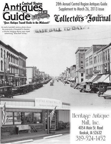 Central Region Antique Guide By Carrie Fowler
