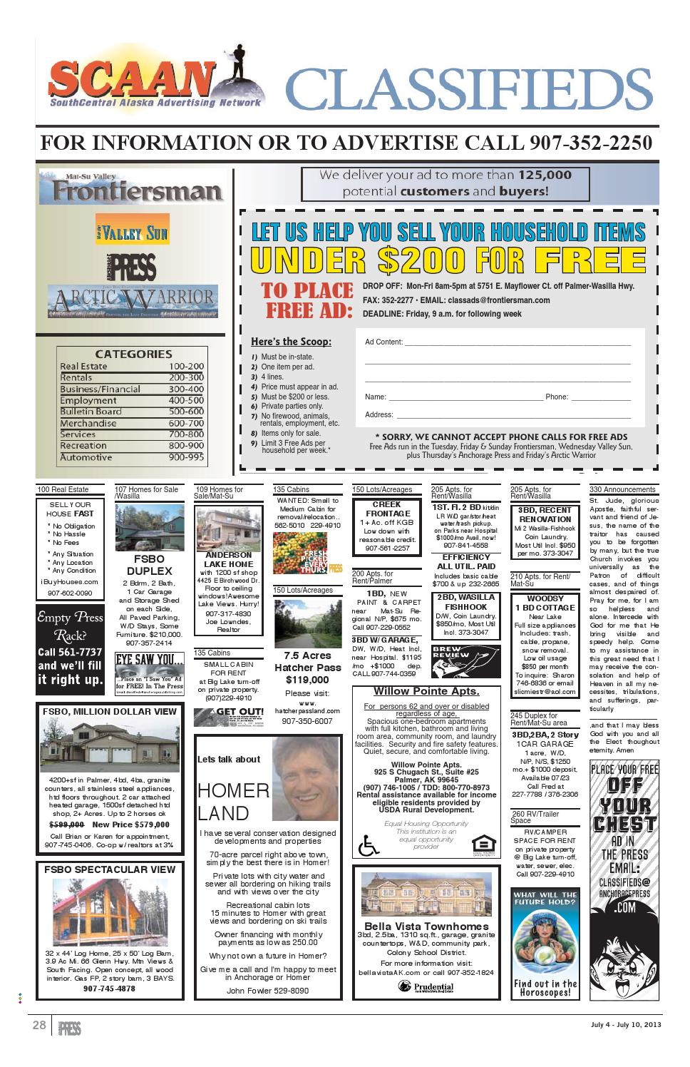 Press dummy 070413 by Wick Communications - issuu