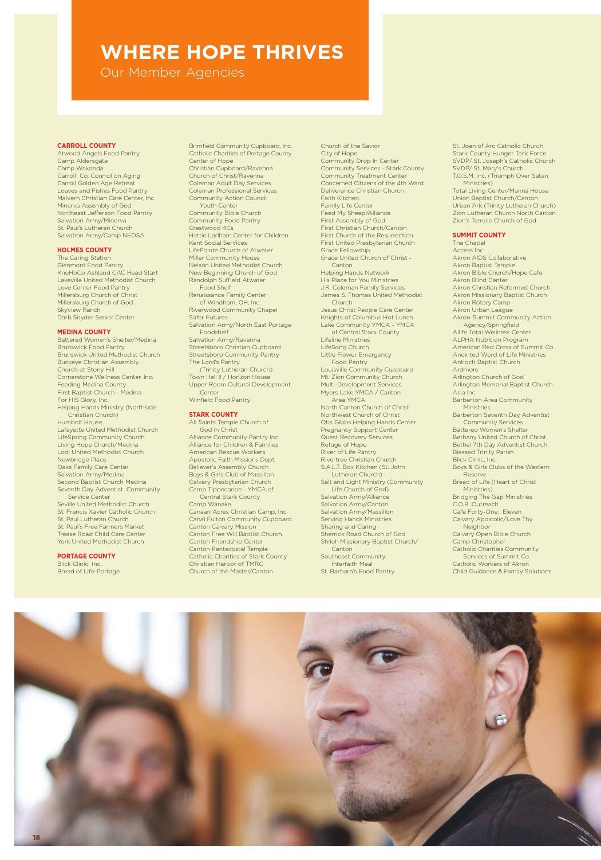 2012 Annual Report by Akron-Canton Regional Foodbank - issuu