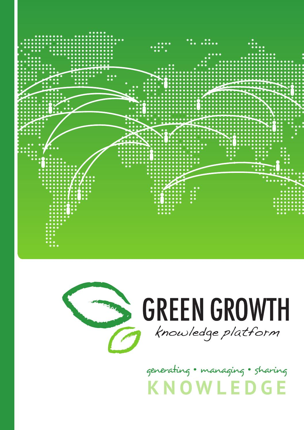 GGKP Brochure by Green Growth Knowledge Platform - issuu