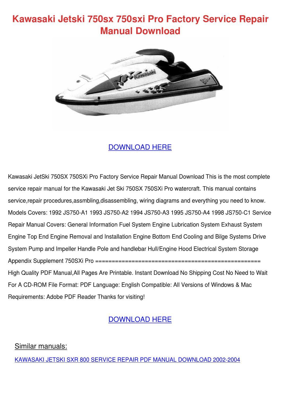 page_1 Kawasaki Jet Ski Wiring Diagrams on