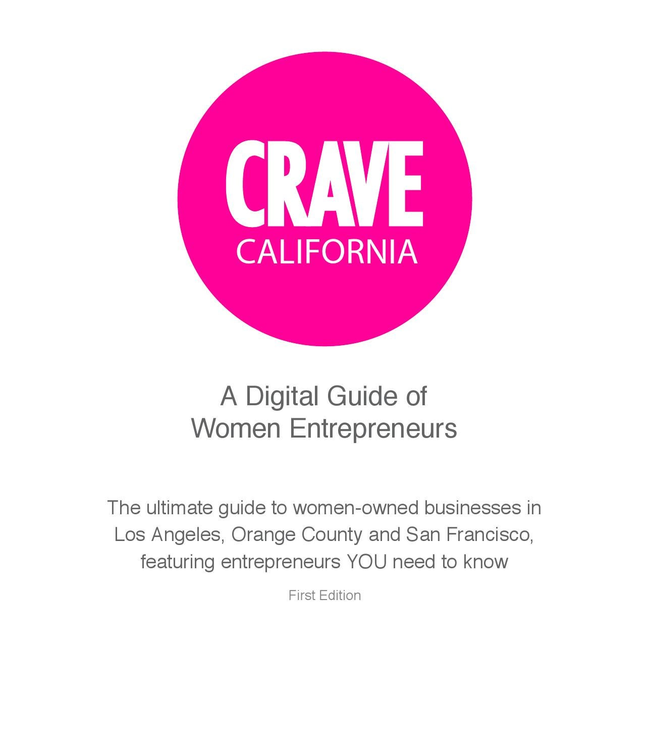 CRAVE California by The CRAVE Company - issuu