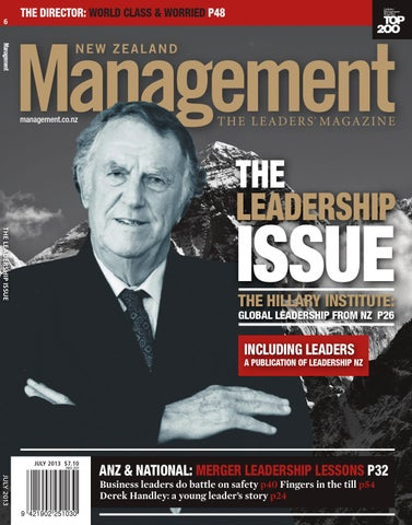 NZ Management July 2013 by mediaweb - issuu 404d8b3527