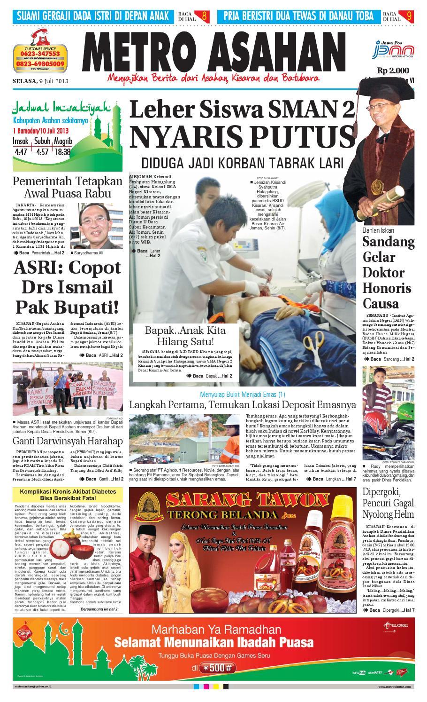 09 Selasa 07 2013 Asahan By Epaper Metro Siantar Grup Issuu