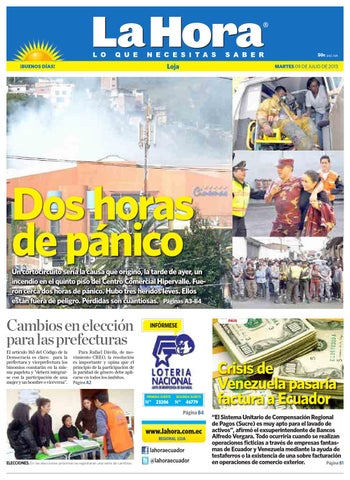 4cb869941714 Diario La Hora Loja 09 de Julio 2013 by Diario La Hora Ecuador - issuu