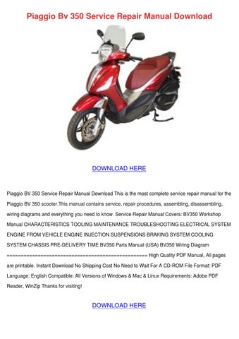 piaggio bv 350 service repair manual download by doncohn issuu rh issuu com manuale officina piaggio beverly 200 pdf piaggio beverly 200 user manual