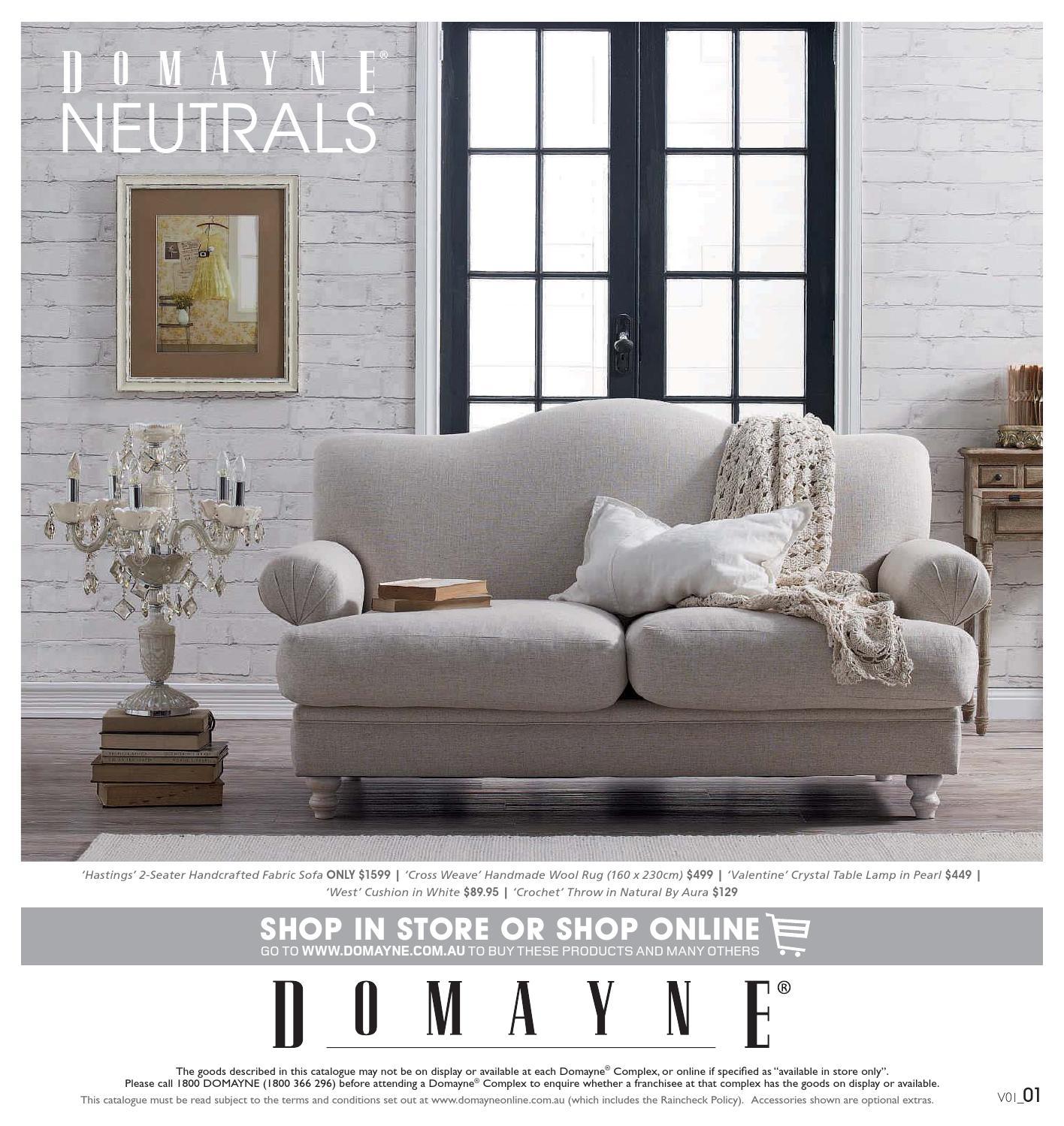 July Neutrals By Domayne Issuu