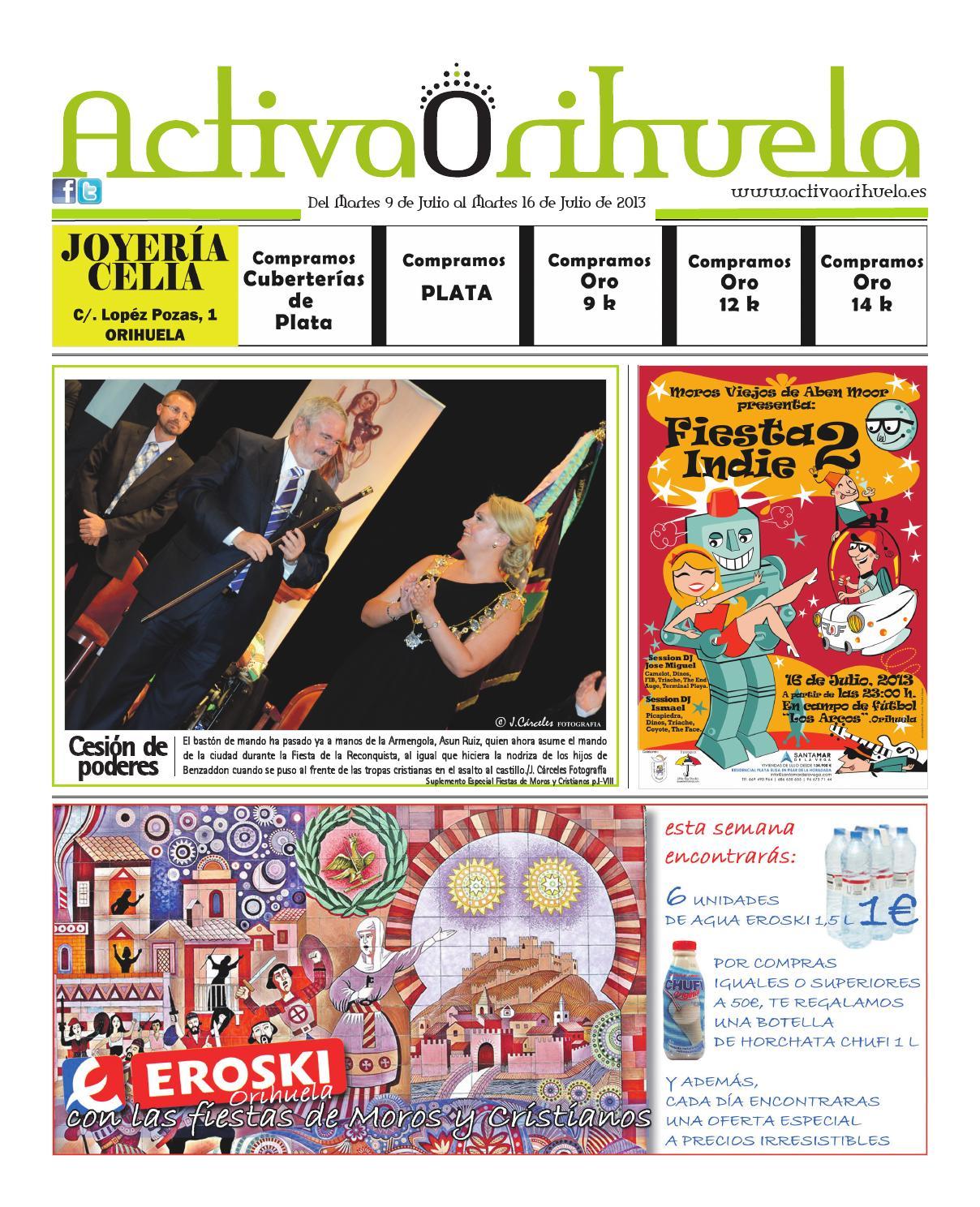 Activaorihuela martes 9 de julio de 2013 by Activaorihuela - issuu