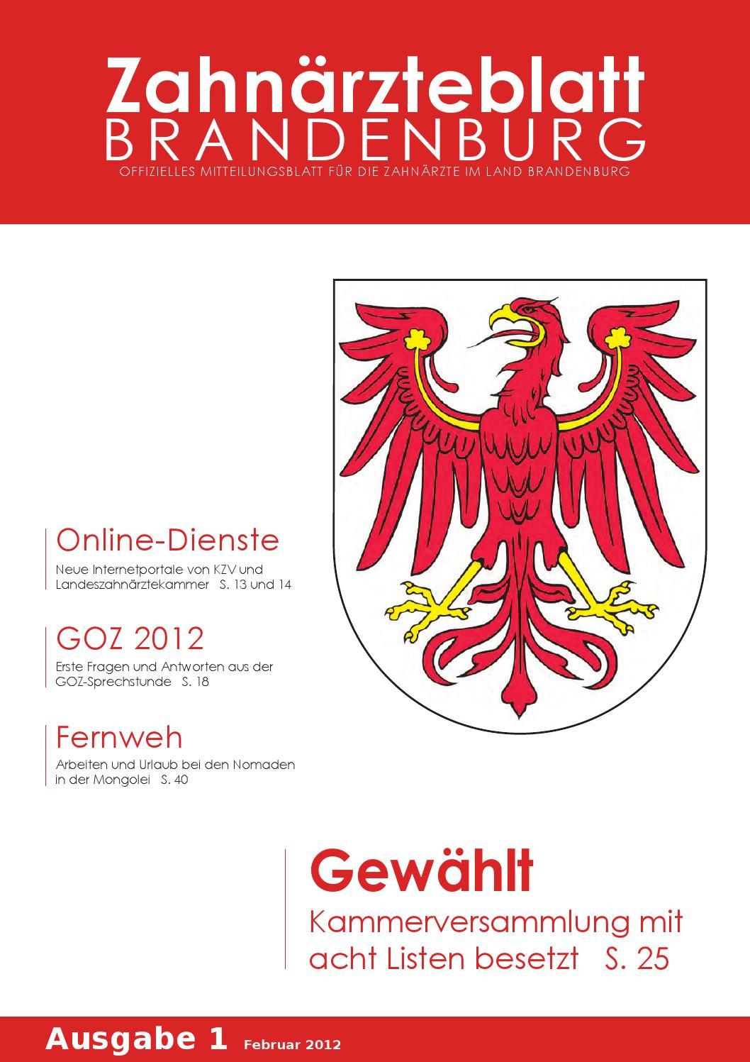 ZBB Ausgabe 1/2012 by KZVLB - issuu