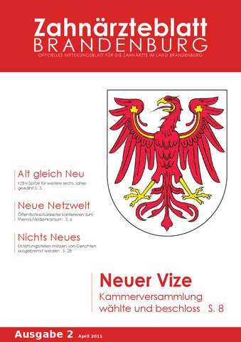 ZBB Ausgabe 2/2011 by KZVLB - issuu
