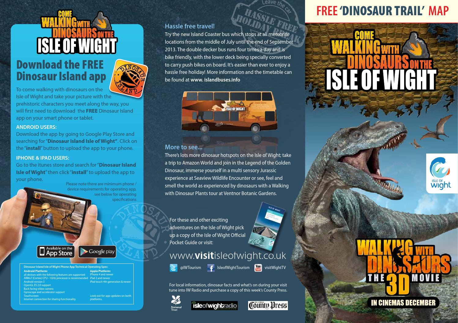 Dinosaur Island Trail Leaflet by Visit Isle of Wight - issuu