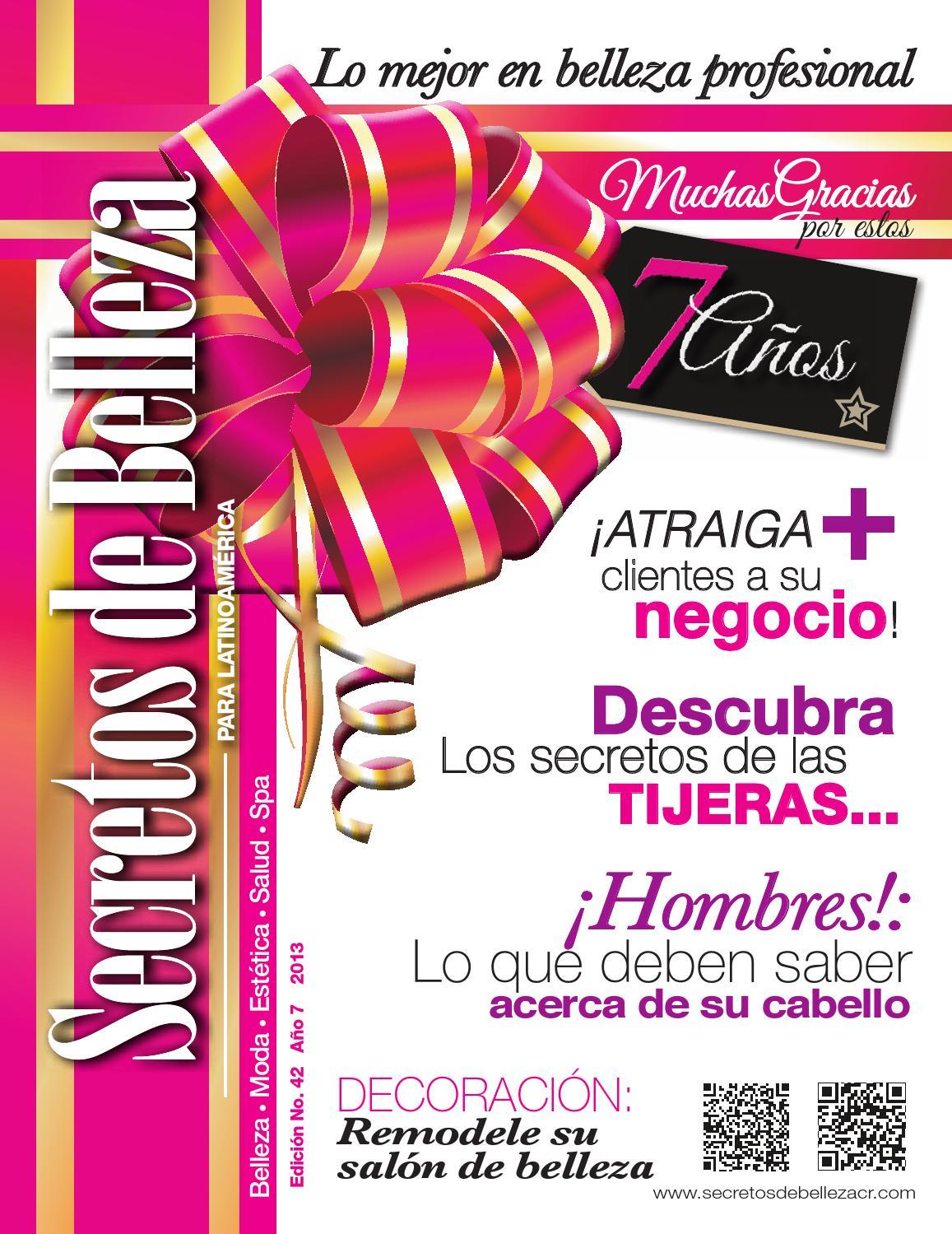 Revista secretos de belleza para latinoamerica ed 42 for Administrar un salon de belleza