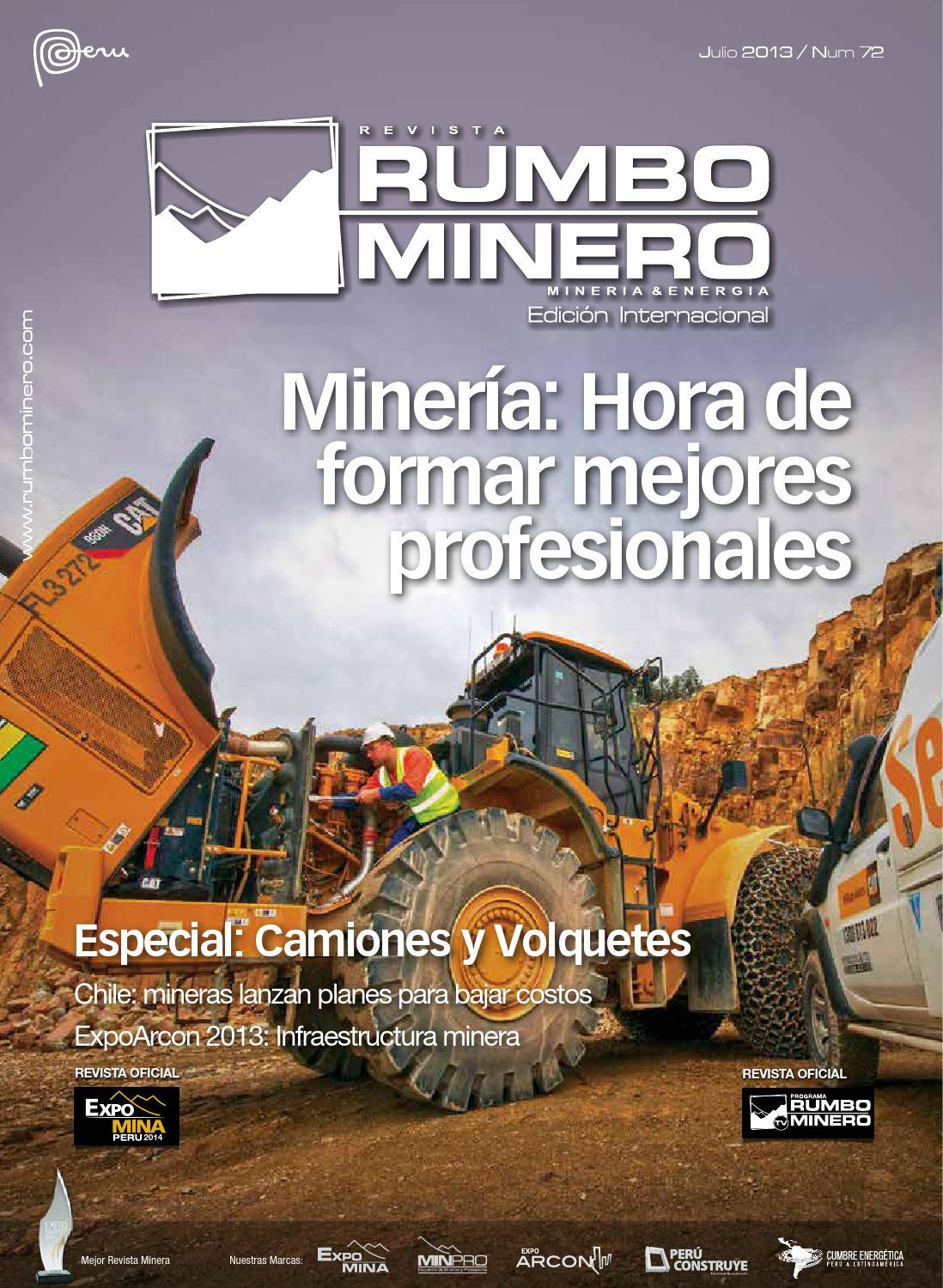 Revista Rumbo Minero N° 72 by GRUPO DIGAMMA - issuu