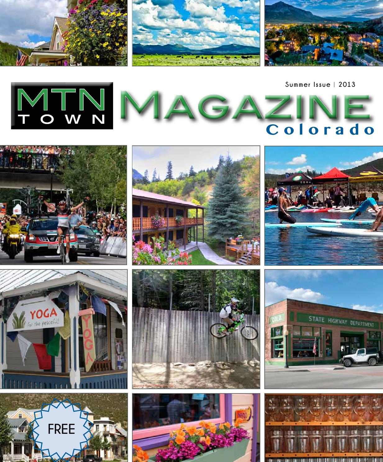 MTN Town Magazine Colorado - Summer 2013 by Mountain Town Magazine - issuu 9c21900fcd