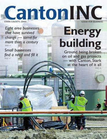 Canton Inc. Magazine Spring 2013 issue