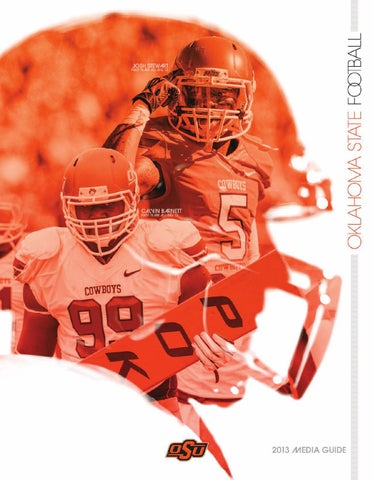22625eb393d 2013 Cowboy Football Media Guide by Oklahoma State Athletics - issuu