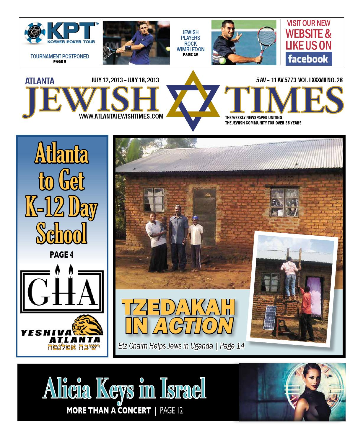 No 28 July 12 Atlanta Jewish Times By Issuu Coach Small Kelsey Black Gha