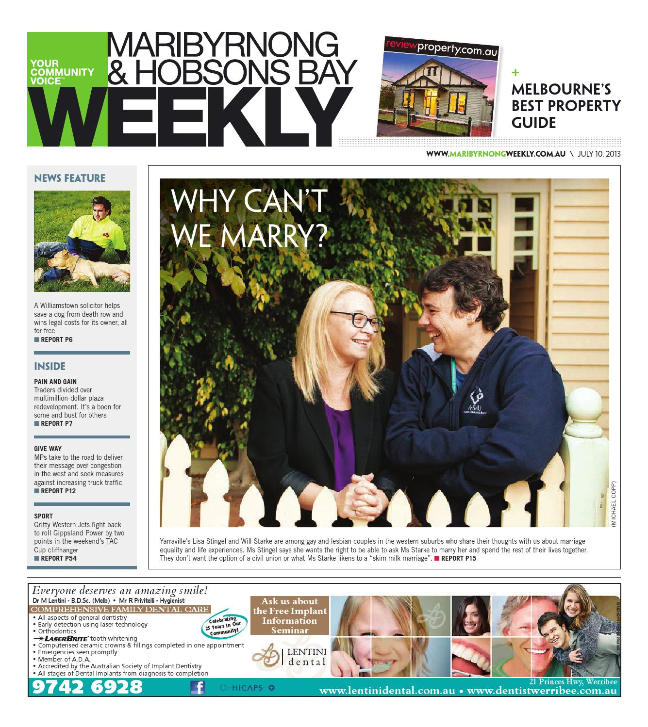32dc0ec6bbdc Maribyrnong hobsonsbayweekly100713 by The Weekly Review - issuu