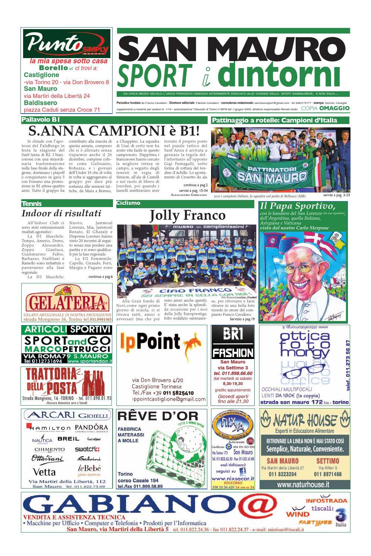Santambrogio Tende Arquati L Angolo Del Materasso Di Santambrogio Fabrizio.Sanmaurosport 13 02 By San Mauro Sport Issuu