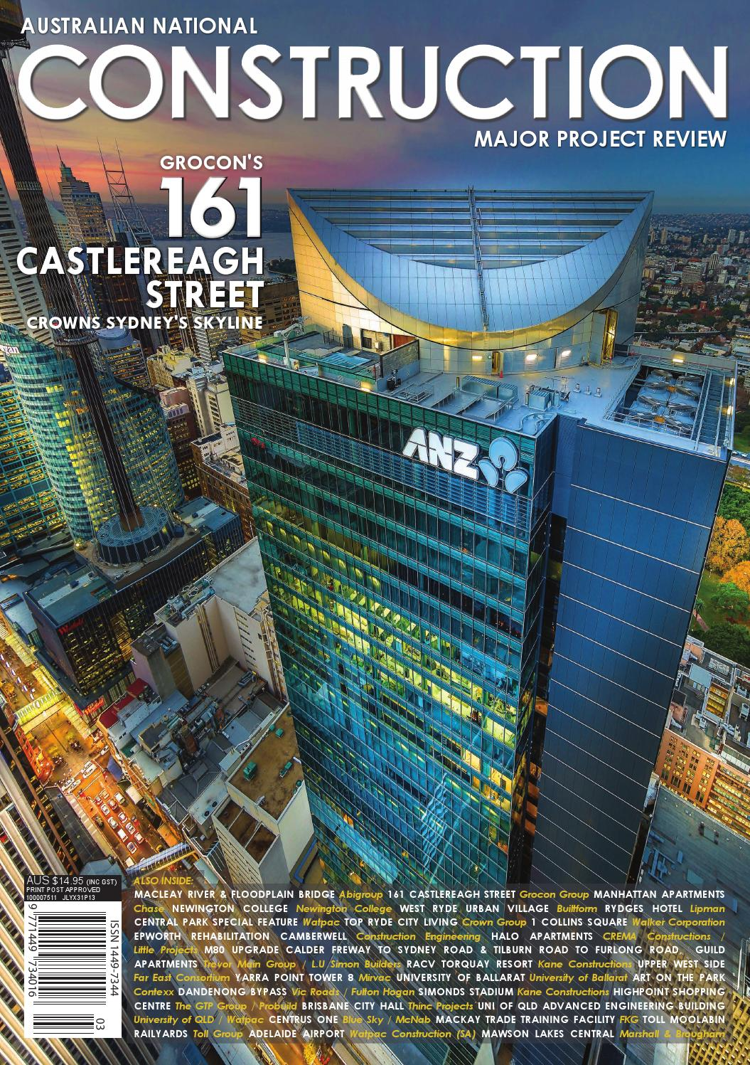 The Australian National Construction Review by Trade Media Group Ptd ...