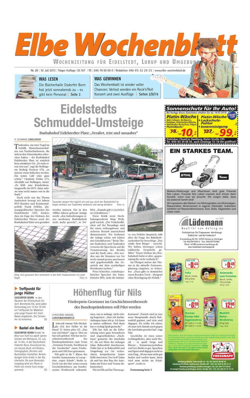 Eidelstedt Kw28 2013 By Elbe Wochenblatt Verlagsgesellschaft Mbh