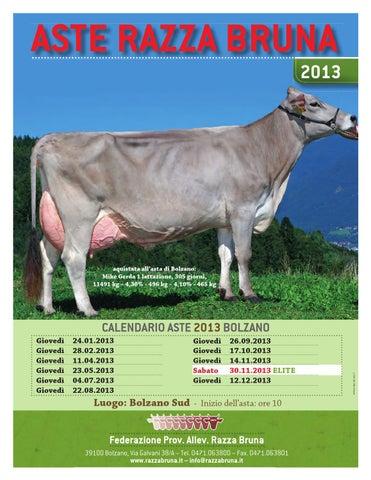 Calendario Aste Bolzano.Anarb Rivista 6 2012 By Associazione Nazionale Allevatori
